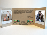 Send a personalized birthday card with photos by mail - Birthday Bugs & Kisses Birthday Card by CareGatto