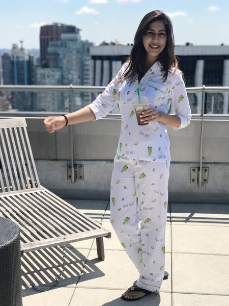 Good Vibes Cactus PJ Set