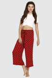 Happy Red Culottes