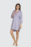 Candy Pinstripes Sleepshirt