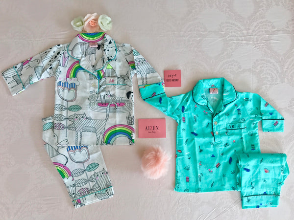 Wonderland PJ Set - Kids