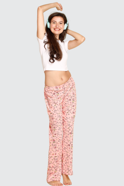 Pink Circus Elephant Cotton Pyjamas