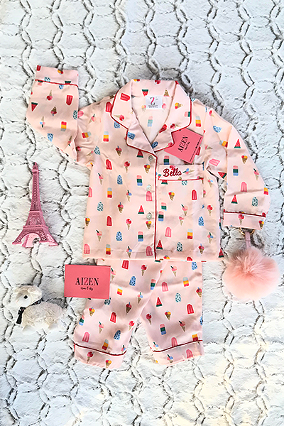 Popsicle PJ Set - Kids