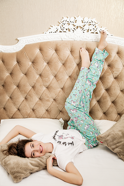 Soft Turquoise Unicorn Pyjama Set