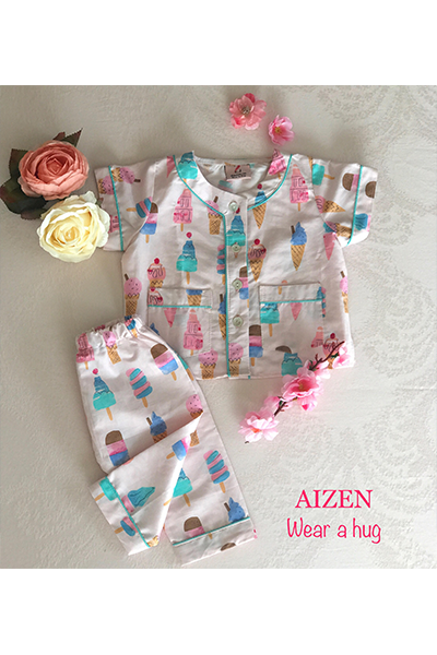 Ice Cream Magic PJ Set - Kids