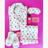 New Ivory Popsicle PJ Set