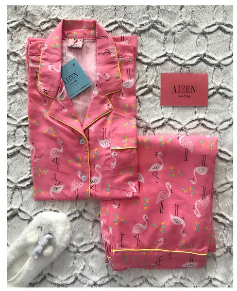 Flamingo PJ Set