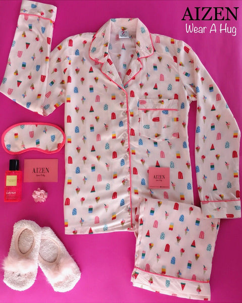 Pink Popsicle PJ Set