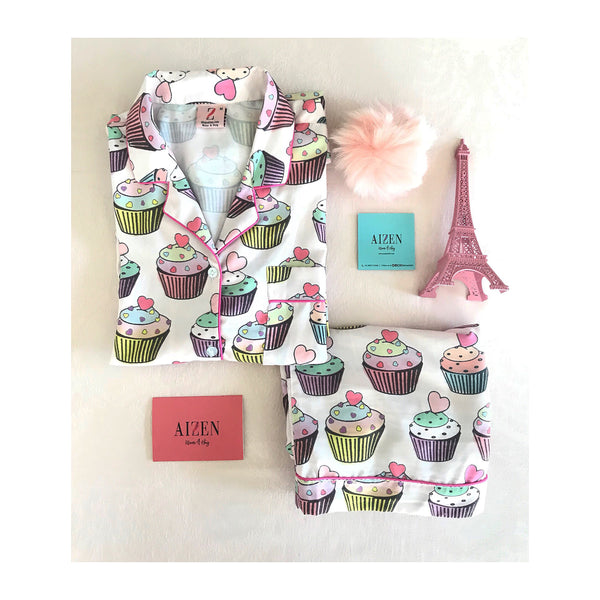 Cupcake PJ Set - Kids