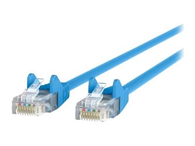 BELKIN CAT5E SNAGLESS PATCH CABLE, 2M, BLUE