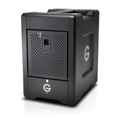 G-SPEED Shuttle Thunderbolt 3 48TB Black Transportable
