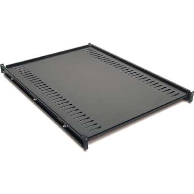 APC (AR8122BLK) STANDARD FIXED SHELF - 250LBS/114KG(CAPACITY) - BLACK