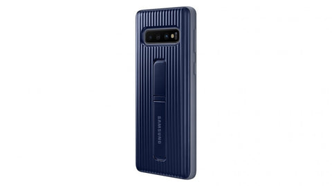 Galaxy S10+ Protective Standing Cover - Black
