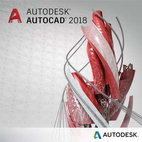 AUTOCAD 2018 NEW SINGLE-USER ELD ANNUAL SUBSCRIPTION WITH ADVANCED SUPPORT