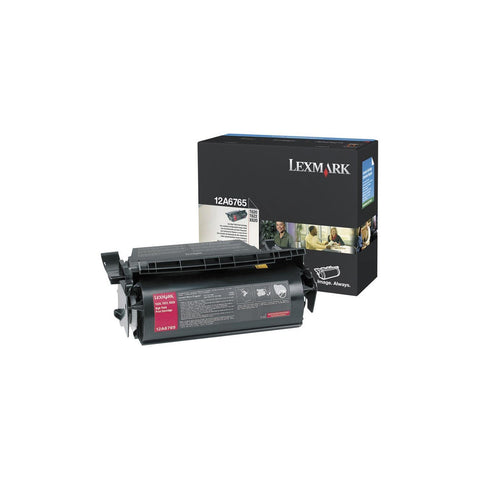 Lexmark 12A6765 Black Extra High Yield Toner Cartridge 30K for T62x