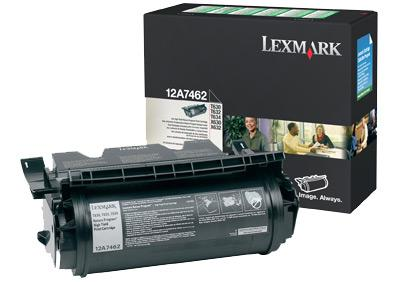 Lexmark 12A7612 BLACK (GREENLITE TONER YIELD 21,000 PAGES