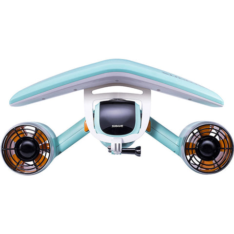 Sublue White Shark Mix Underwater Scooter Set with Battery and Floater