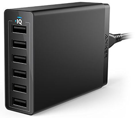 Anker A2123T11 PowerPort 6 Port USB Wall Charger