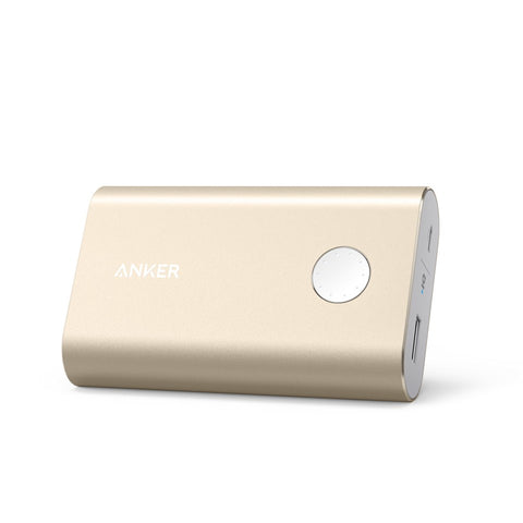ANKER POWERCORE+ 13,400MAH PORTABLE USB 3.0 POWERBANK GOLD