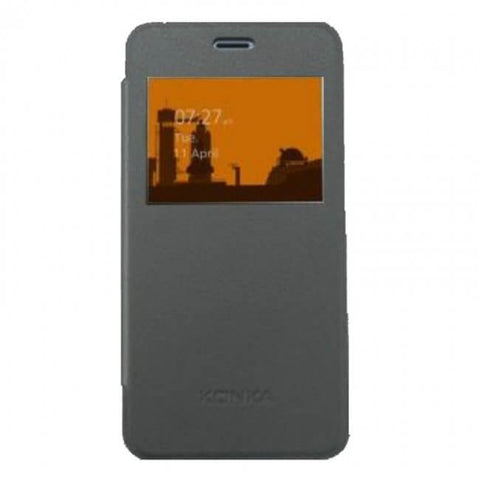 Smart Case with Window suit R8A Konka - Space Grey
