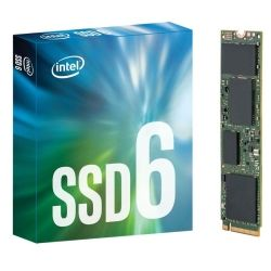 INTEL 600p SERIES SSD, M.2 80MM PCIE 3.0 X4, 256GB, 1570R/540W MB/s, RETAIL BOX, 5YR WTY