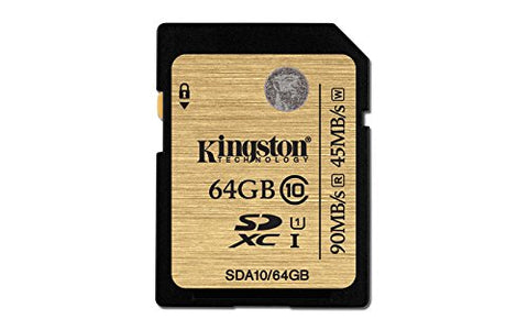 KINGSTON 64GB SDHC (CLASS 10) UHS-I ULTIMATE FLASH CARD
