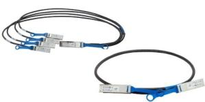 INTEL ETHERNET QSFP+ TO 4xSFP+BREAKOUT CABLES, 1 METER