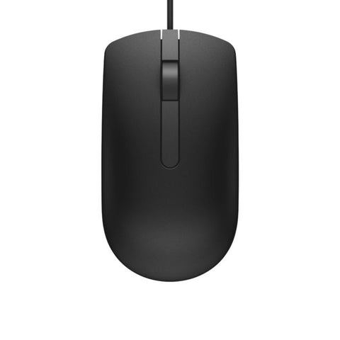 DELL MS116 WIRED USB OPTICAL MOUSE (BLACK), 1YR WTY