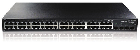 DELL N2048P 48PORT L3 LITE, MANAGED SWITCH, GbE POE+(48), 10GbE SFP+(2), STACK(12),3Y PRO+