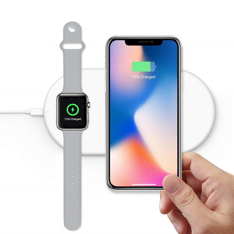 Dual Wireless Charging Pad (Handset + Watch)