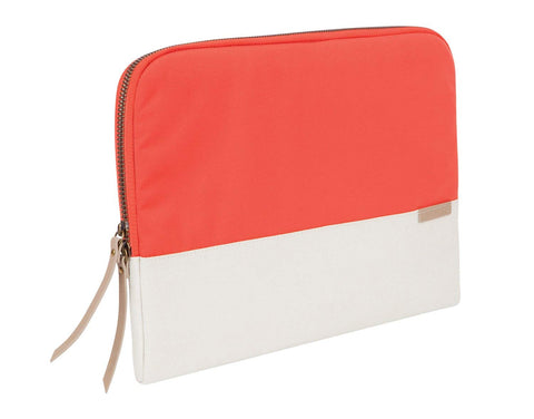 "STM GRACE SLEEVE 13.3"" - CORAL/DOVE"