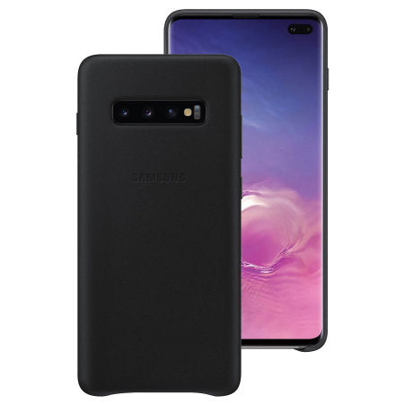 Galaxy S10 Leather Rear Cover