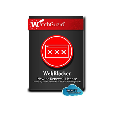WATCHGUARD XTMV SMALL OFFICE 1-YEAR WEBBLOCKER