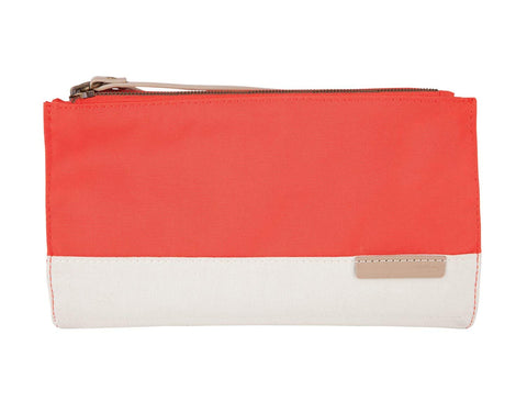 STM GRACE CLUTCH - CORAL/DOVE