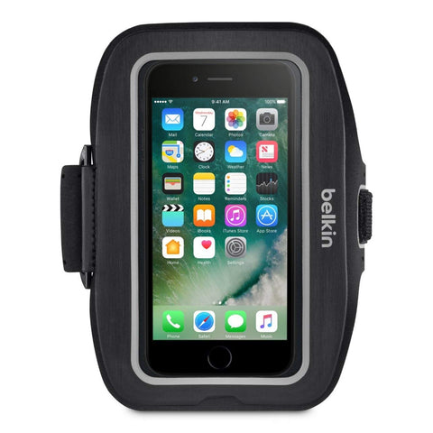 BELKIN SPORT-FIT PLUS ARMBAND  FOR IPHONE 7 PLUS, 2 YR WTY