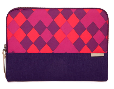 "STM GRACE SLEEVE FITS UP TO 11"" - PURPLE DIAMONDS"