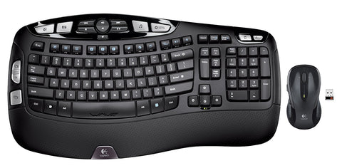 LOGITECH MK550 WIRELESS WAVE KEYBOARD AND MOUSE COMBO - 3YR WTY