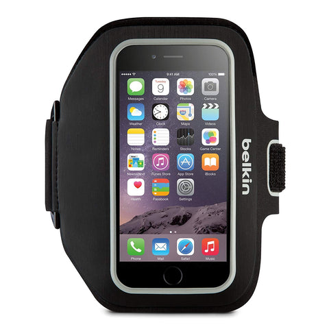 BELKIN  SPORT FIT PLUS ARM BAND BLACK FOR IPHONE 6 PLUS, 1YRWTY