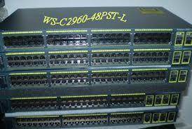 CISCO (WS-C2960+48TC-L) CATALYST 2960 PLUS 48 10/100 + 2 T/SFP LAN BASE