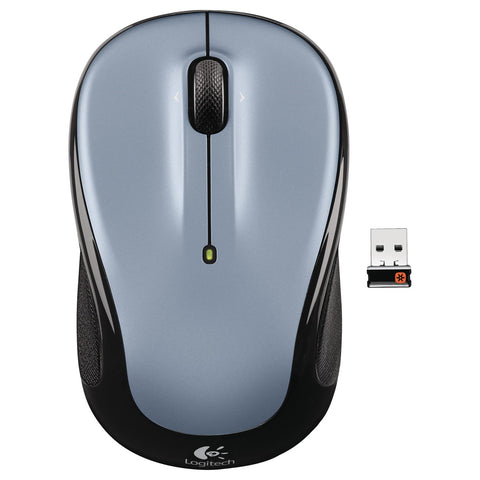 LOGITECH M325 WIRELESS MOUSE - LIGHT SILVER - 3YR WTY