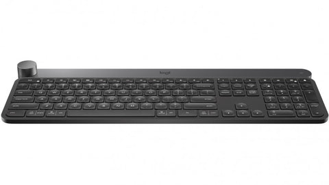 LOGITECH CRAFT ADVANCED KEYBOARD WITH CREATIVE INPUT DIAL -1YR WTY