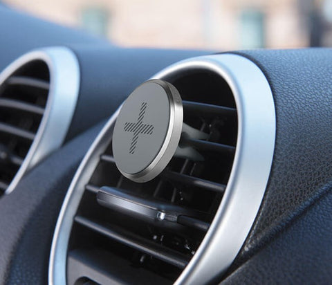 LOGITECH +TRIP UNIVERSAL CAR AIRVENT MOUNT - SILVER - 1YR WTY