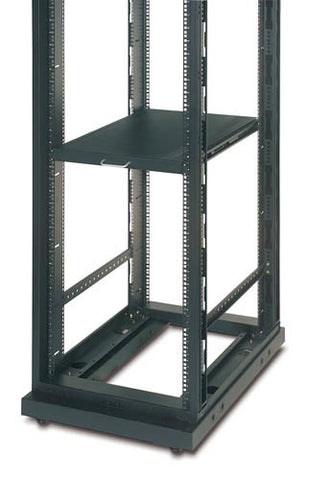 APC (AR8123BLK) STANDARD DUTY SLIDING SHELF - 100LBS/45KG(CAPACITY) - BLACK