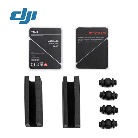 Part 42 Gimbal Rubber Dampers & U-EVA sticker for Remote Controller