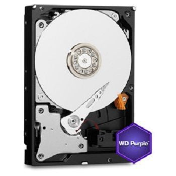 "WD PURPLE INTERNAL 3.5"" DESKTOP SATA DRIVE, 4TB, 6GB/S, INTELLIPOWER, 3YR"