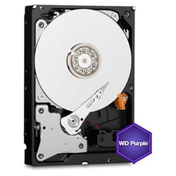"WD PURPLE INTERNAL 3.5"" DESKTOP SATA DRIVE, 6TB, 6GB/S, INTELLIPOWER, 3YR"
