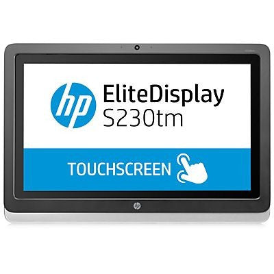"HP S230TM 23""IPS TOUCH, 16:9,1920x1080, 7MS, DP, DVI-D, TILT, 1000:1, 3YR"