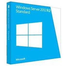 Microsoft OEM WINDOWS SERVER 2012 STANDARD R2 (2-CPU/2-VM) - OEM PACK