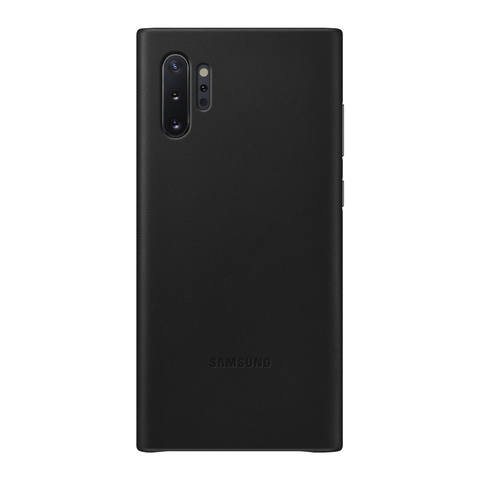 Galaxy Note 10+ Leather Cover