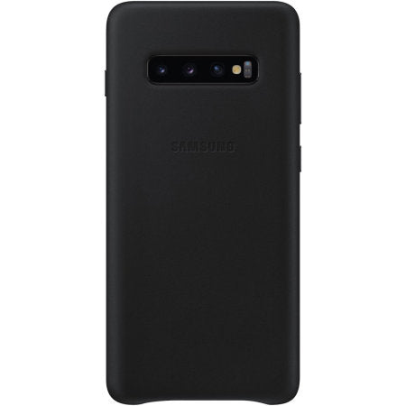 Galaxy S10+ Leather Rear Cover